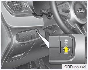 Kia Carens - Electronic stability control (ESC) - Brake system